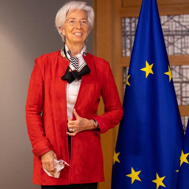 Christine Lagarde, šefica Europske središnje banke