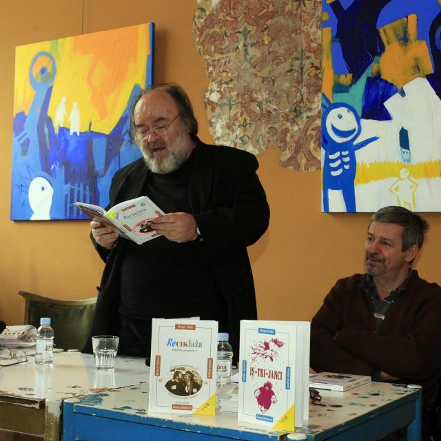 Drago Orlić na promociji knjige
