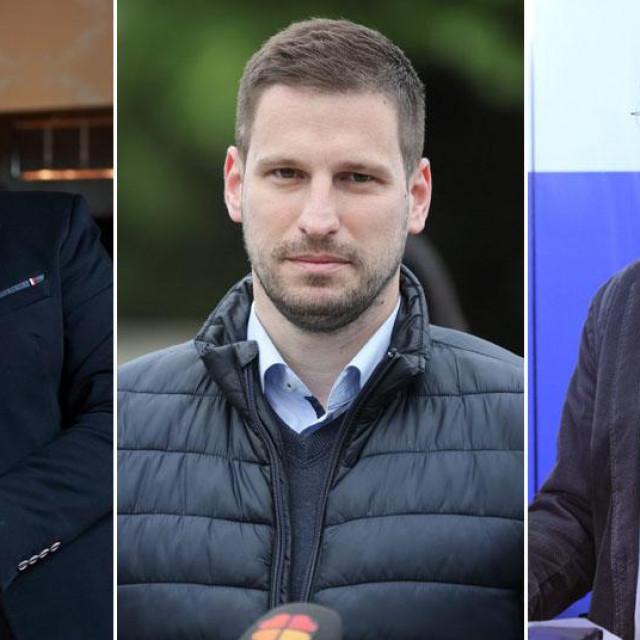 Berislav Mlinarević, Ivan Radić, Goran Kušec
