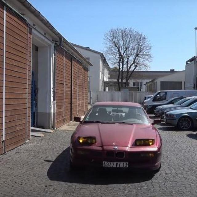 1991. BMW 850i
