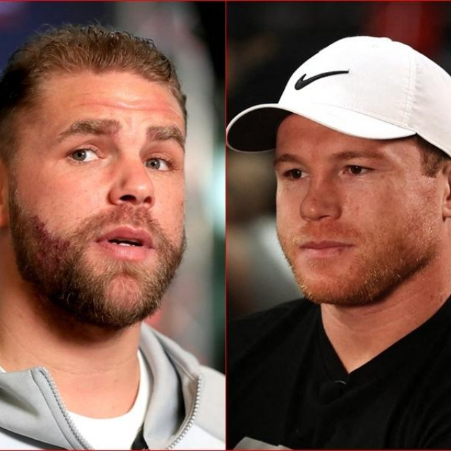 Billy Joe Saunders i Canelo Alvarez