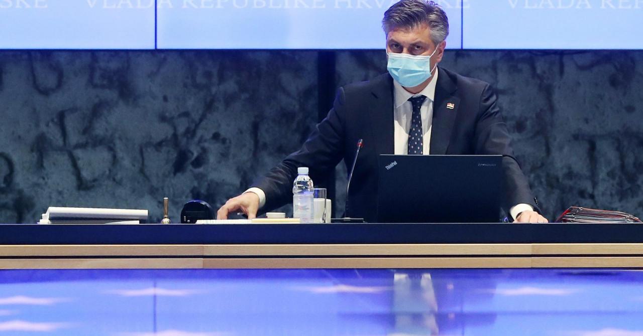 Plenković: 'Bilježimo ohrabrujući pad, ali brojevi su i dalje visoki. Opasnost od zaraze nije iza nas'