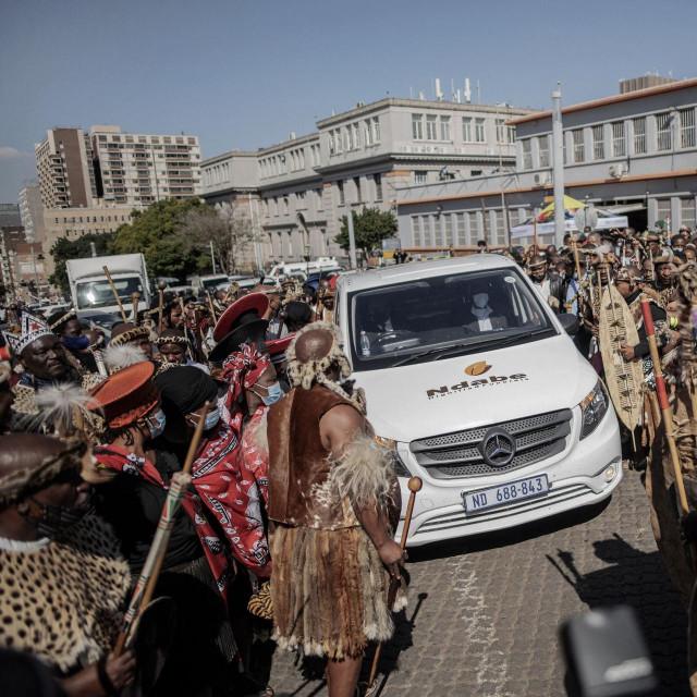 Ispraćaj kraljice Shiyiwe Mantfombi Dlamini Zulu