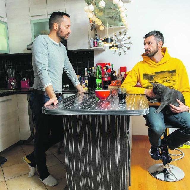 Mladen Kožić i Ivo Šegota<br /> <br />