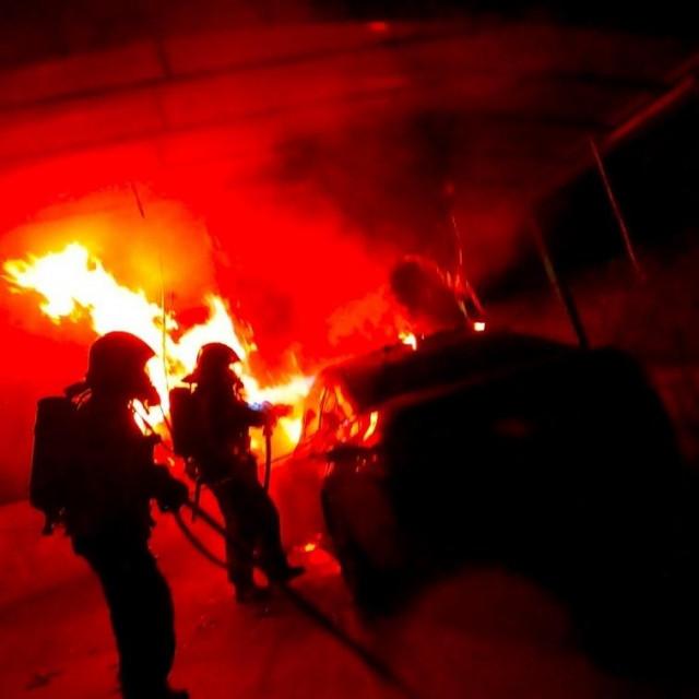 Požar automobila, Gračansko dolje