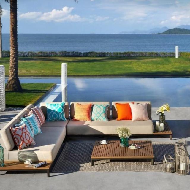 Luksuzni vrtni sofa set od 4 elementa – Saint Tropez, Globero.hr