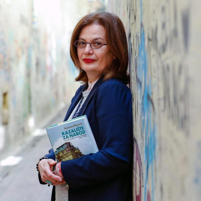 Teatrologinja, kazališna redateljica i profesorica na ADU Snježana Banović