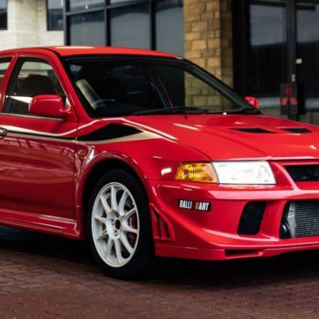 2001 Mitsubishi Lancer Evolution VI Tommi Makinen Edition