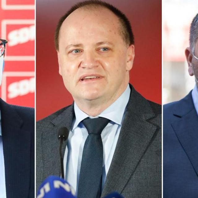 Marko Filipović, Davor Štimac i Josip Ostrogović