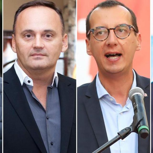 Ivan Radić, Berislav Mlinarević, Marko Filipović i Davor Štimac