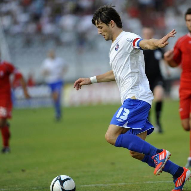 Ante Vukušić u vremenu kada je branio boje Hajduka