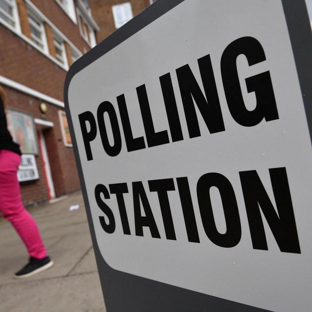 Izborno mjesto u Londonu