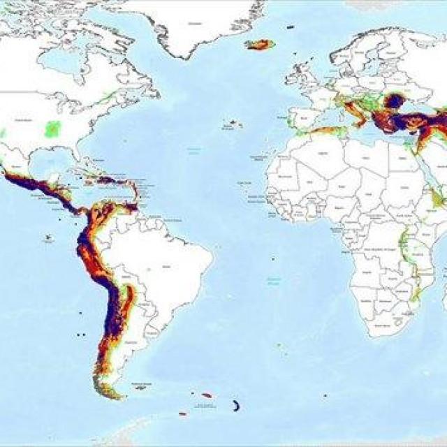 Karta rizika od potresa