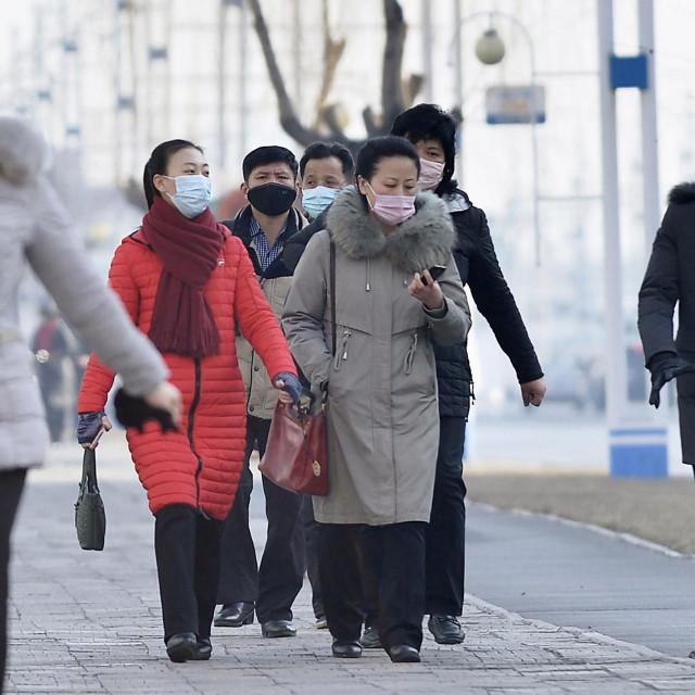 Ulica u Pjongjangu