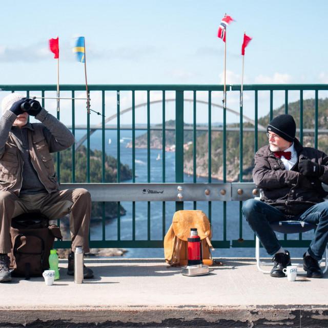 Blizanci se svake subote sastaju na norveško-švedskoj granici