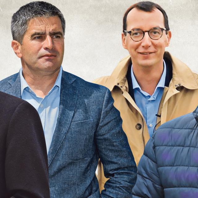 Tomislav Tomašević, Vice Mihanović, Marko Filipovoć, Ivan Radić