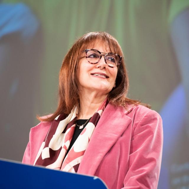 Potpredsjednica Europske komisije i povjerenica za demokraciju i demografiju Dubravka Šuica