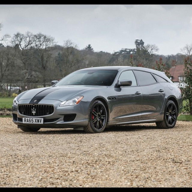 Maserati Quattroporte 'Shooting brake'