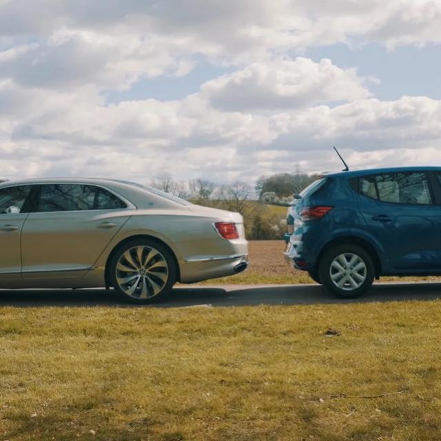 Dacia vs. Bentley