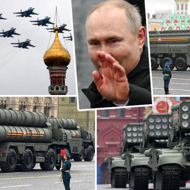 Vojna parada u Moskvi za Dan pobjede