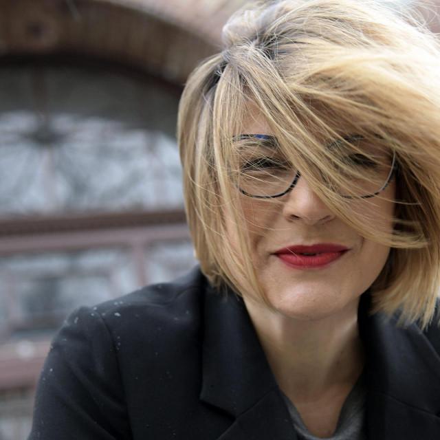 Zagreb, 170321.<br /> Dora Ruzdjak Podolski, kazalisna redateljica, profesorica na ADU. (Intervju, Mirjana Dugandzija)<br /> Foro: Bruno Konjevic/CROPIX