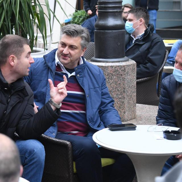 Davor Filipović, Andrej Plenković, Gordan Jandroković<br />