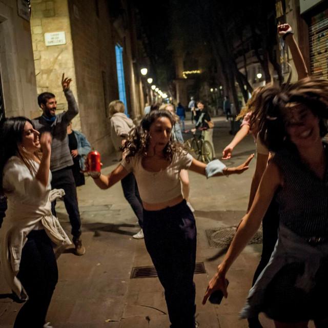 Slavlje na ulicama Barcelone
