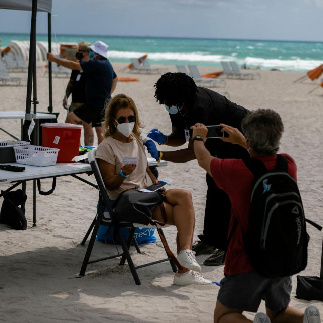 Cijepljenje na Floridi