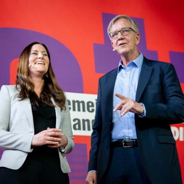Janine Wissler i Dietmar Bartsch