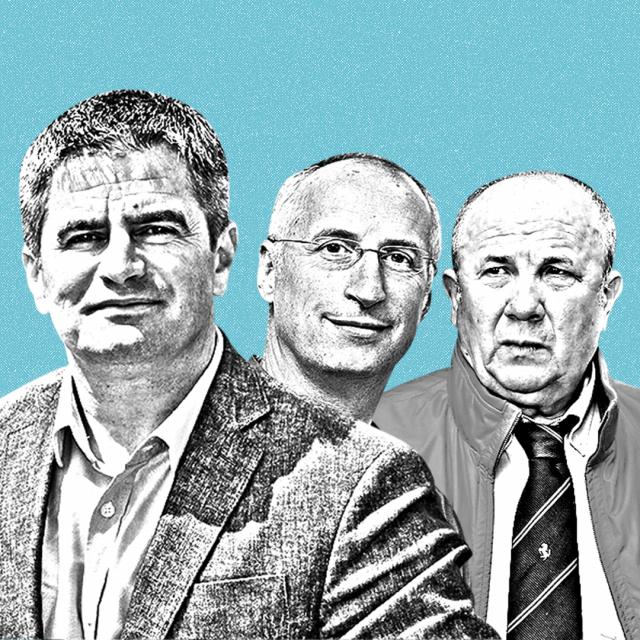 Vice Mihanović, Ivica Puljak, Željko Kerum, Ante Franić, Jakov Prkić, Branka Ramljak