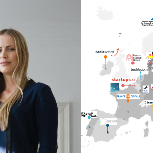 Hajdi Ćenan, potpredsjednica udruge CroAIi hrvatska predstavnica u radnoj skupini koja je pripremala Akcijski plan za startupe