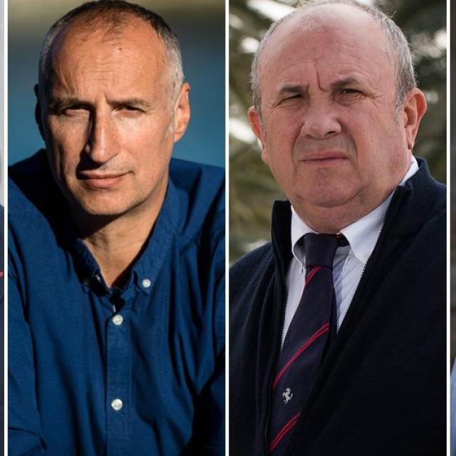 Vice Mihanović, Ivica Puljak, Željko Kerum, Ante Franić