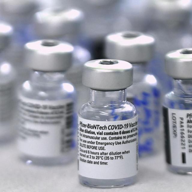 Cjepivo Pfizera i BioNTecha, arhivska fotografija