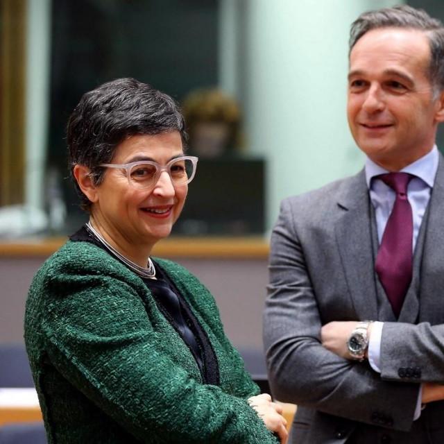 María Aránzazu Gónzalez Laya s njemačkim kolegom Heikom Maasom