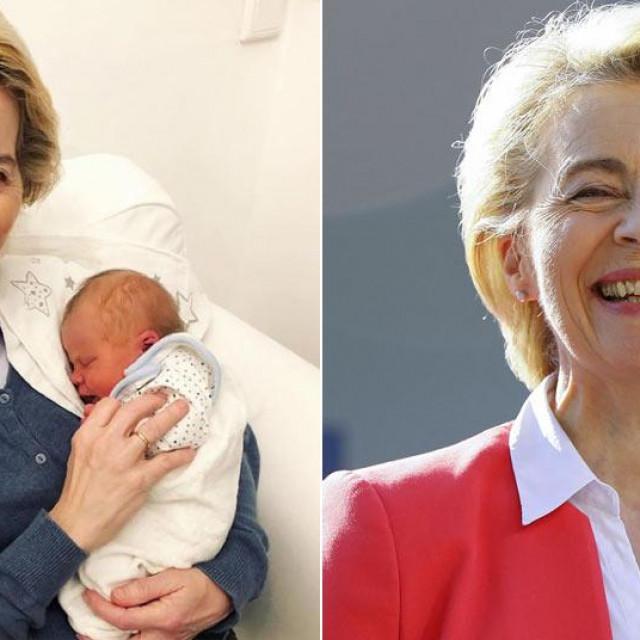 Ursula von der Leyen s unučicom