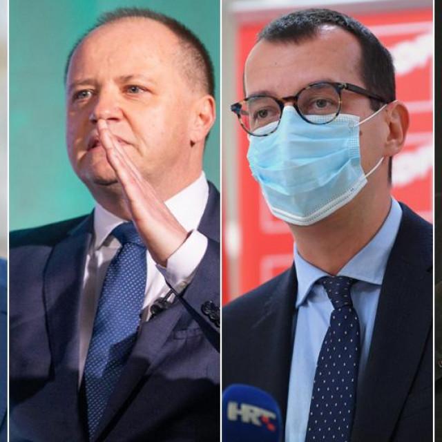 Josip Ostrogović, Davor Štimac, Marko Filipović, Nikola Ivaniš