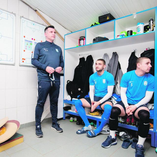 Zoran Zekić iz vremena dok je trenirao Osijek
