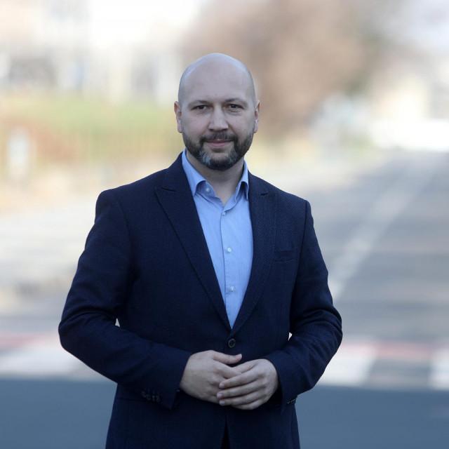 Mihael Zmajlović, kandidat za župana Zagrebačke županije<br />