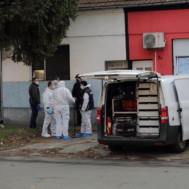 kuća u kojoj je ubijenaNeda Elezović<br /> <br />