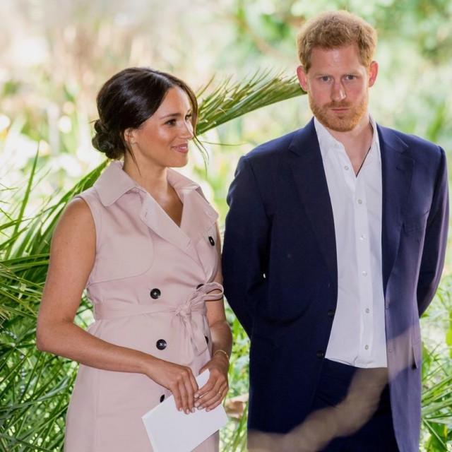Princ Harry i Meghan
