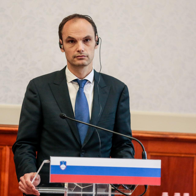 Slovenski ministar vanjskih poslova Anže Logar
