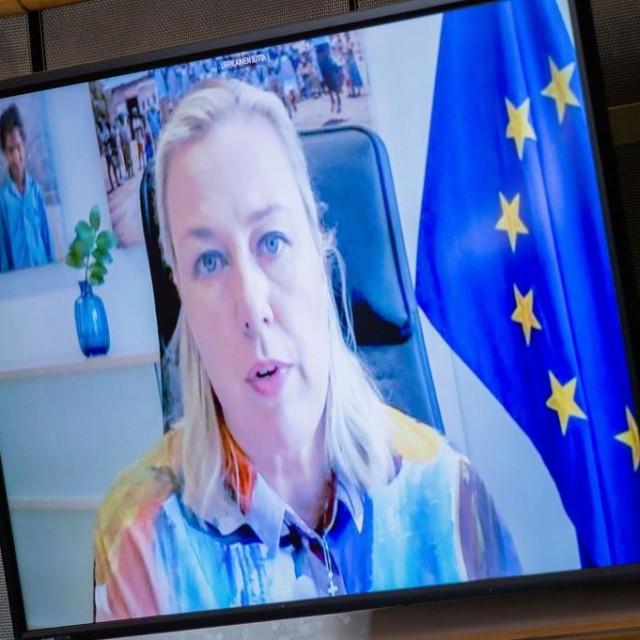 Povjerenica Europske komisije za međunarodna partnerstva Jutta Urpilainen