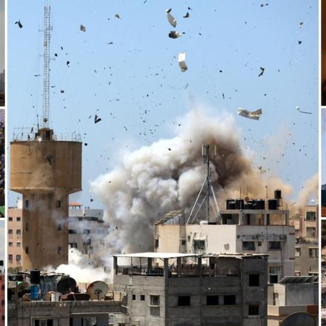 Prizori iz Gaze i Izraela
