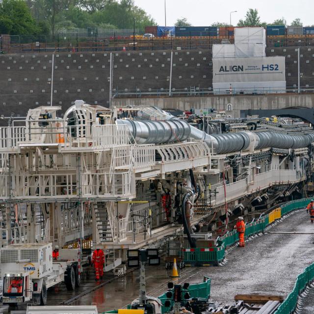 Novi rovač tunela počinje s radom na željeznici