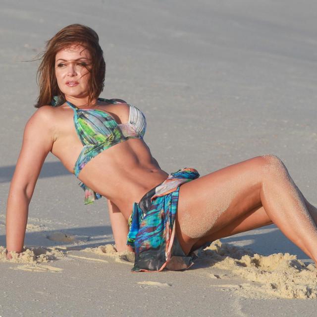 Gabriela Spanic 2013. u Rio de Janeiru