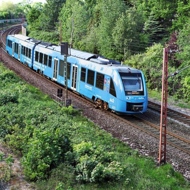 Vlak na vodikov pogon u Njemačkoj