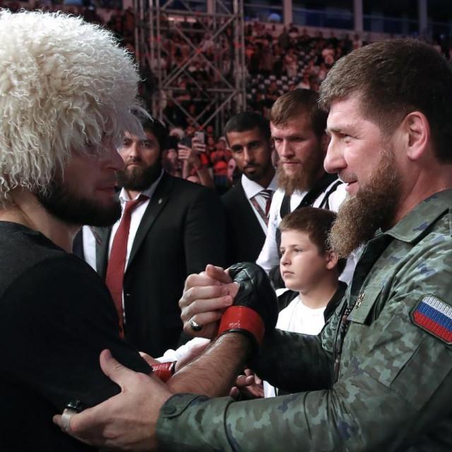Khabib Nurmagomedov i Ramzan Kadyrov