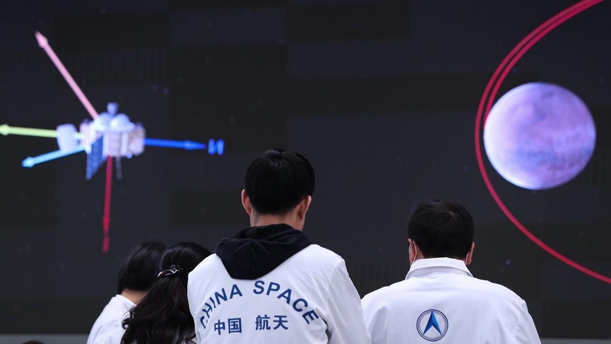 Kineski rover uspješno sletio na Mars 11053403