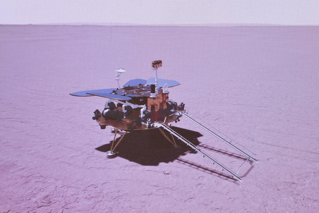 Kineski rover uspješno sletio na Mars 11053405