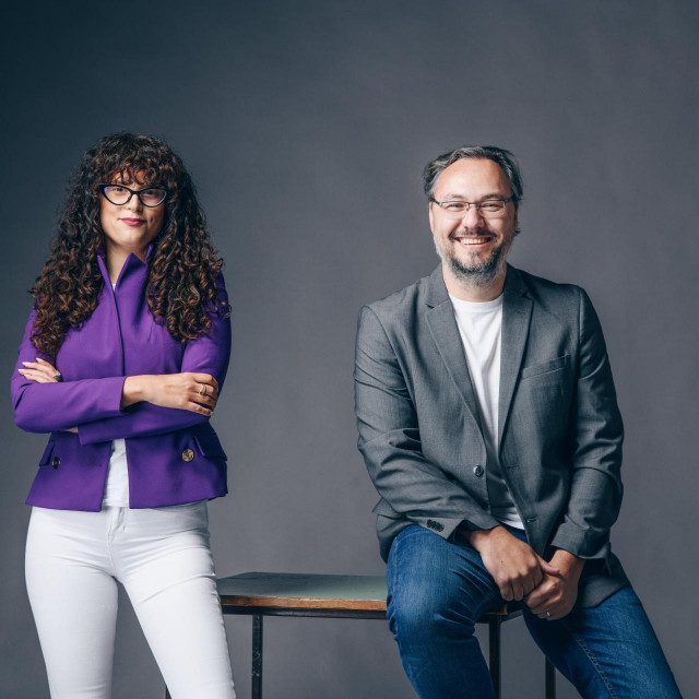 Josipa Majić i Vedran Vukman iz startupa Rovuto